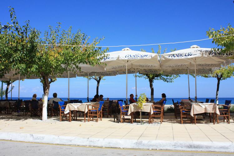 Poros è un paese nel sud dell\'isola di Cefalonia